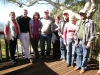 Happy group of guests at Tamborine Mountain Bed and Breakfast