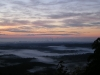 Mysterious August Sunrise overlooking the Gold Coast from Mt Tamborine