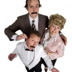 Faulty Towers cast on Mt Tamborine