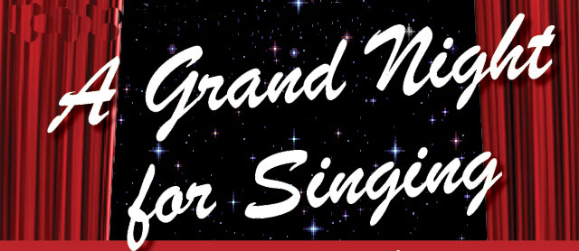 Banner for A Grand Night for Singing on Mt Tamborine