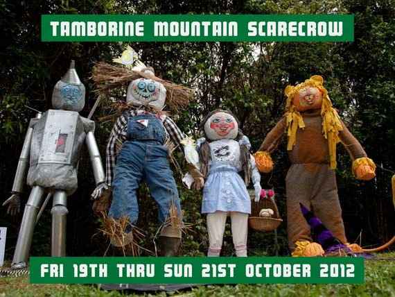 Wizard of Oz Scarecrows Tamborine Mountain