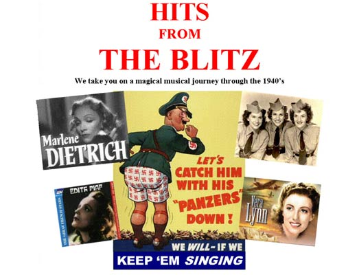 Poster for Hits From The Blitz at Eagles Nest Mount Tamborine