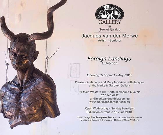 works from Jacques van der Merwe Exhibition  Marks and Gardner