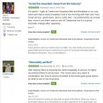 Reviews from Tripadvisor - Tamborine Mountain Bed and Breakfast