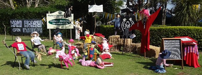 Group of Scarecrows Tamborine Mountain