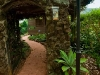 Gate and pathway at Tamborine Mountain Bed and Breakfast