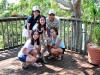 Happy family of guests with Elle at Tamborine Mountain Bed and Breakfast
