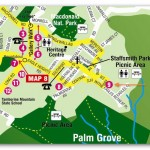 Tamborine Mountain Bed & Breakfast Location Map