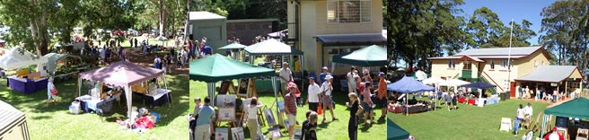 Tamborine Mountain Country Markets held monthly